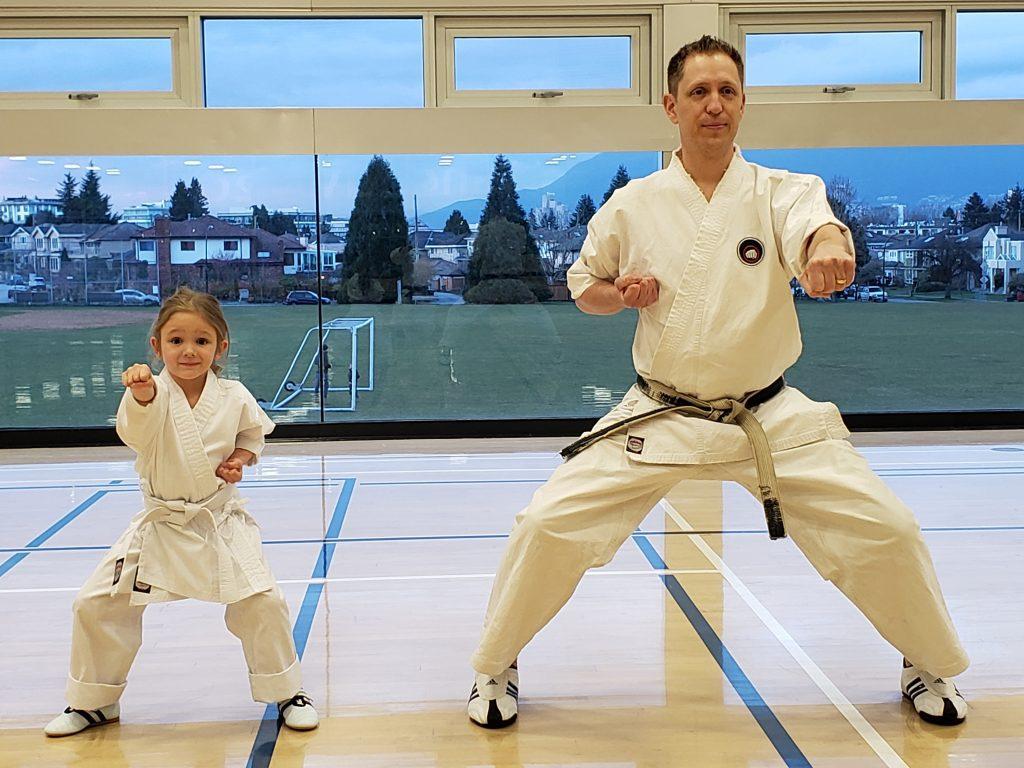 Karate Chris and Daughter